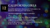 Fancy-Feet-2018-Show-C-12-California-Girls