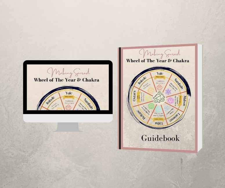 Wheel of The Year & Chakra Guidebook