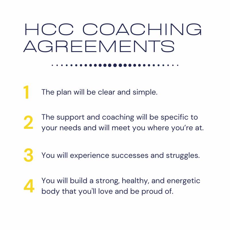 Health Coach Carter Coaching Agreements