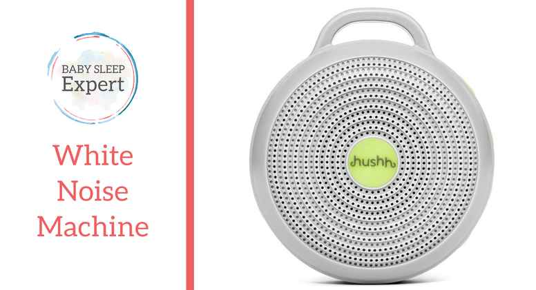 Yogasleep Hushh White Noise Sound Machine for Baby