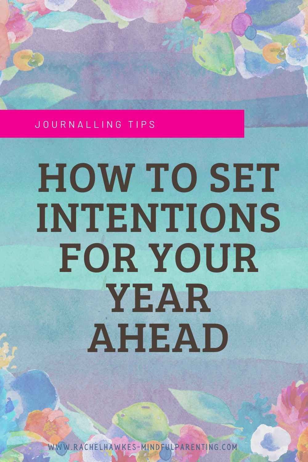 Intentions for the year