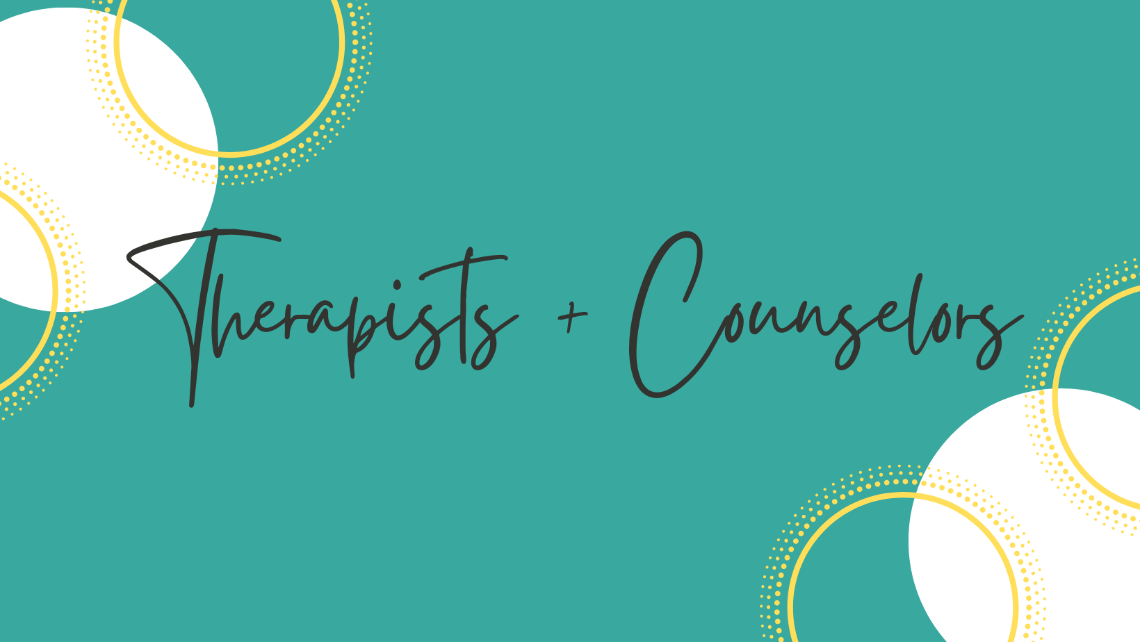 Therapists and Counselors_Banner