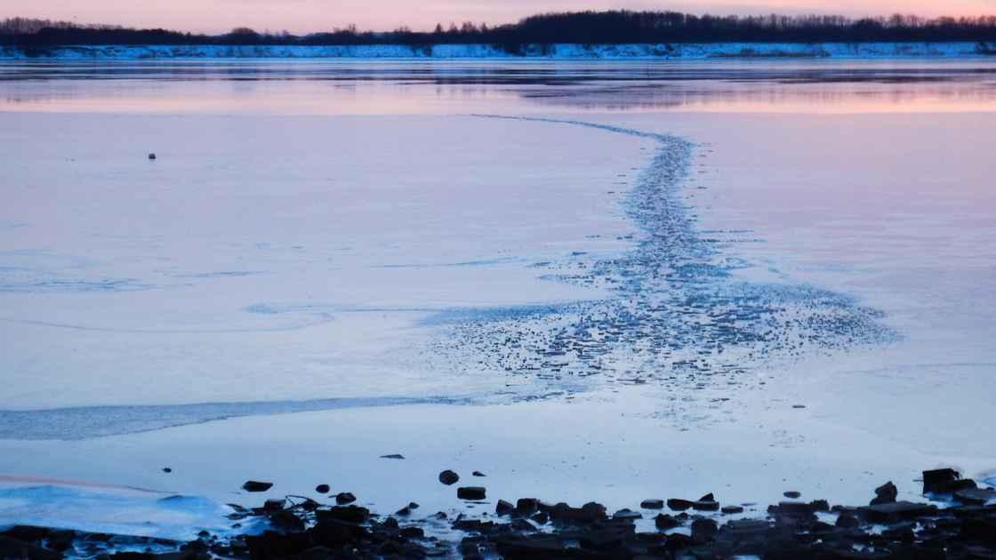 Vinter - Isfyldt Farvand 001
