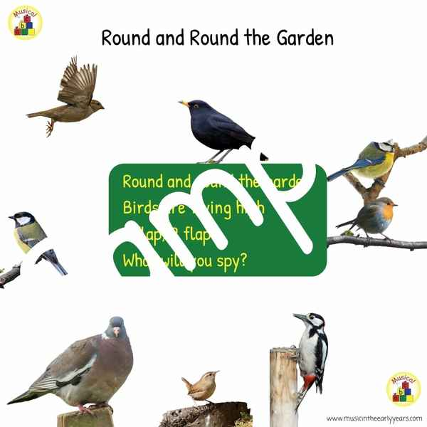 Sample Square Round and round the garden
