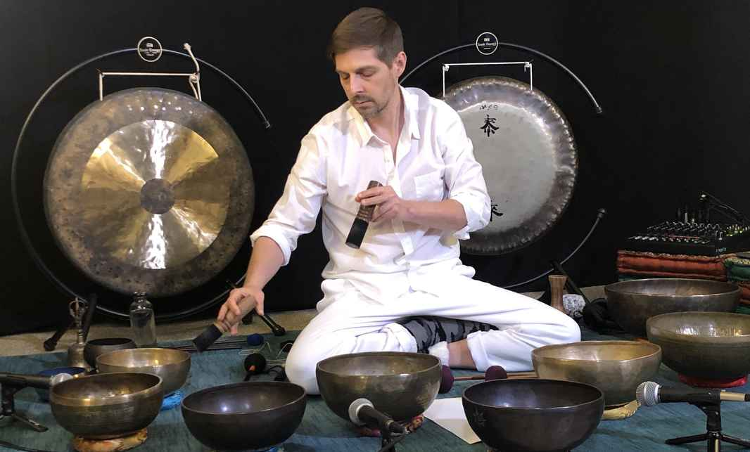 Nick White Sound Healing Reflective