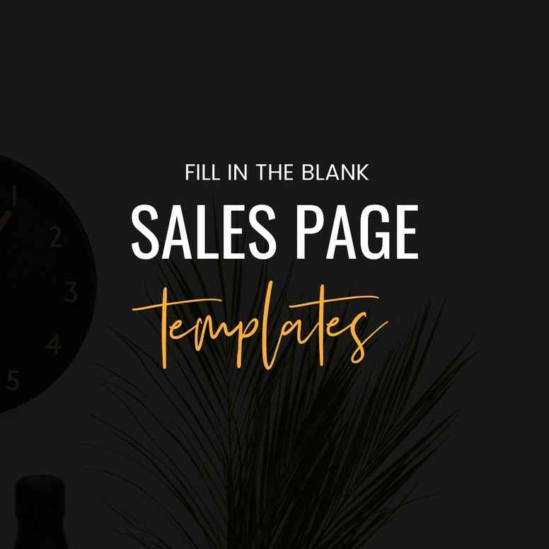 Create Sales Pages That Convert