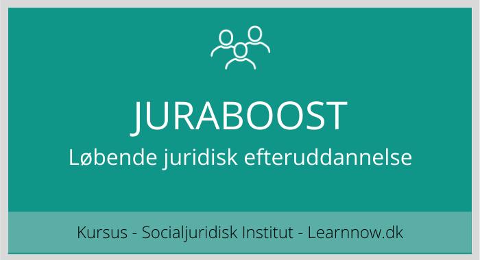 JURABOOST - løbende juridisk efteruddannelse