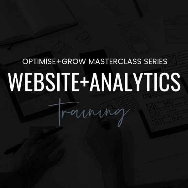 Website & Analytics Masterclass