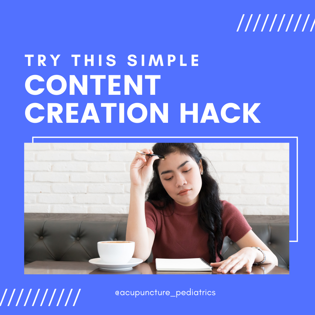 Content Creation Hack