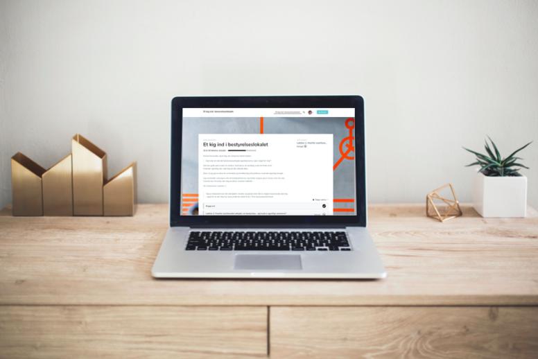 Online MasterClass: Et kig ind i bestyrelseslokalet