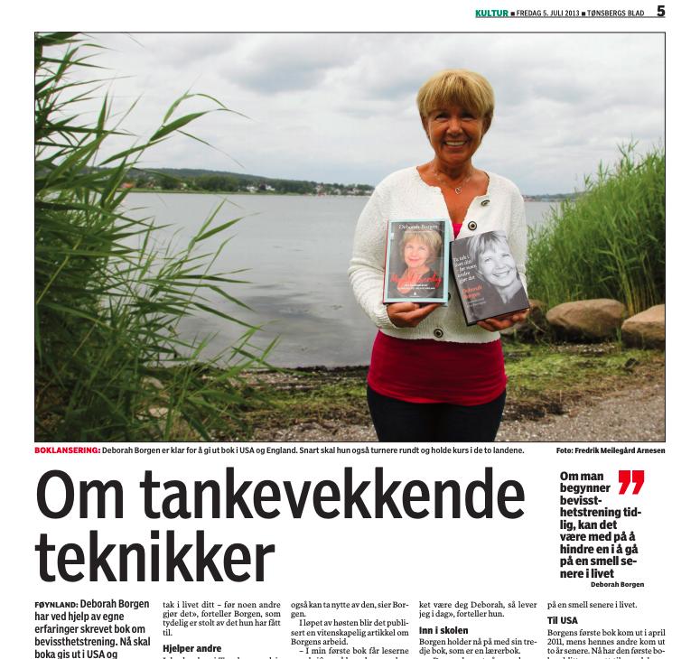Deborah i Tønsberg Blad