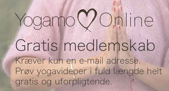 Yogamo Online - Gratis prøve medlemskab