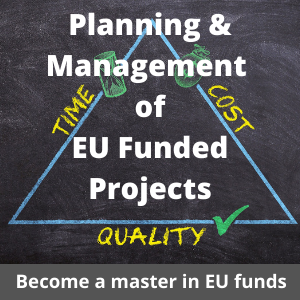 Live eCourse on Proposal Development and Project Management of EU Funded Projects