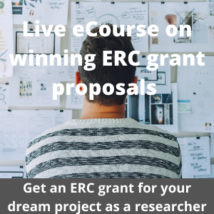 Live eCourse on ERC grant applications