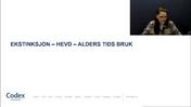 Kitty Moss Sørensen 7 EKSTINKSJON HEVD ALDERS TIDS BRUK Grovredigert av Jana 130121