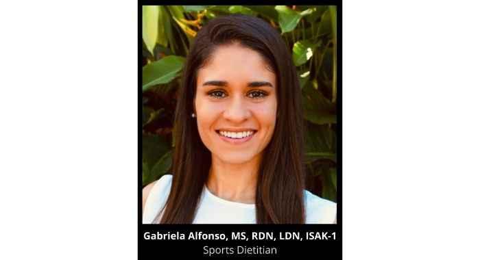 Gabriela as your Nutrition Monitor