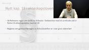 Nytt kap. 18 i ekteskapsloven Familie Arv Skifterett Grovredigert av Jana 150121