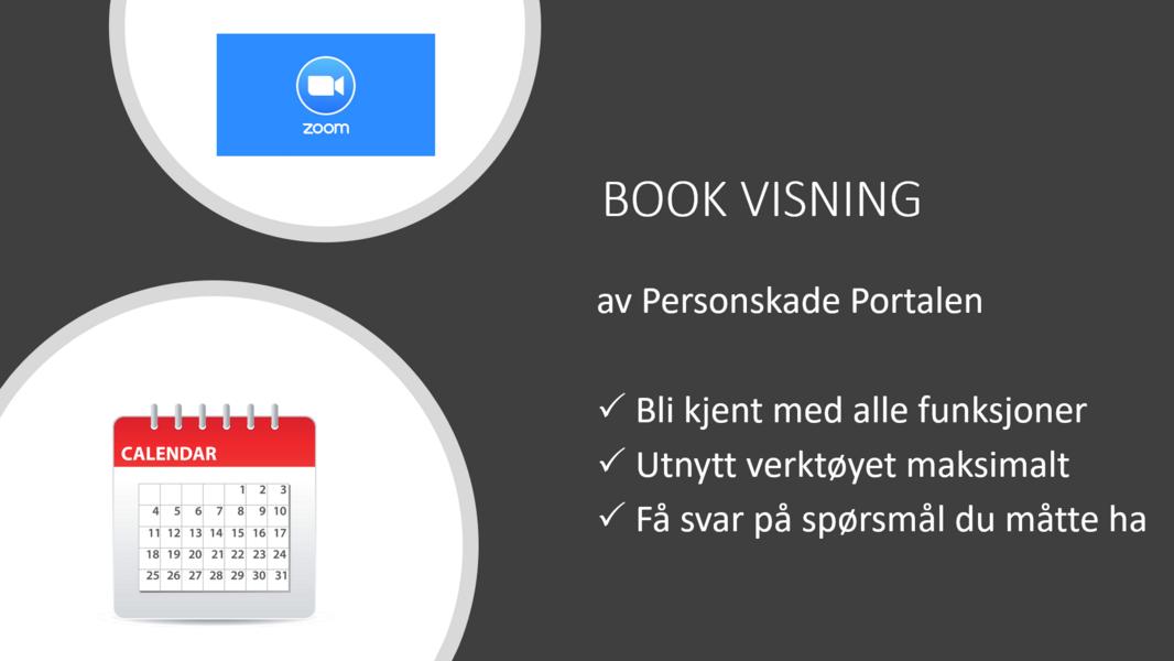 Book visning av Personskade Portalen
