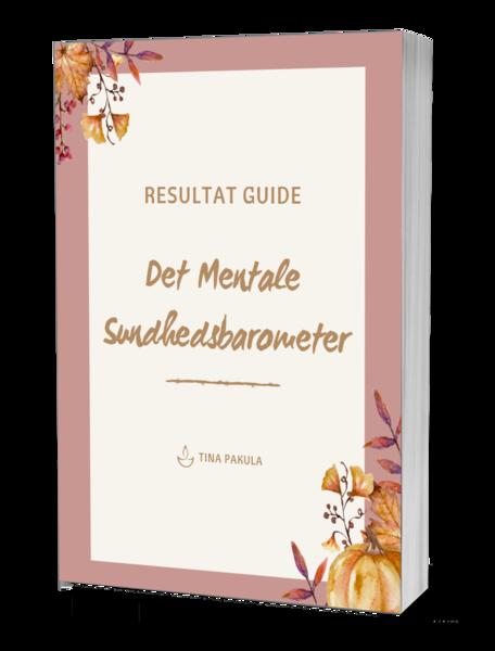 Resultat Guide - forside som bog