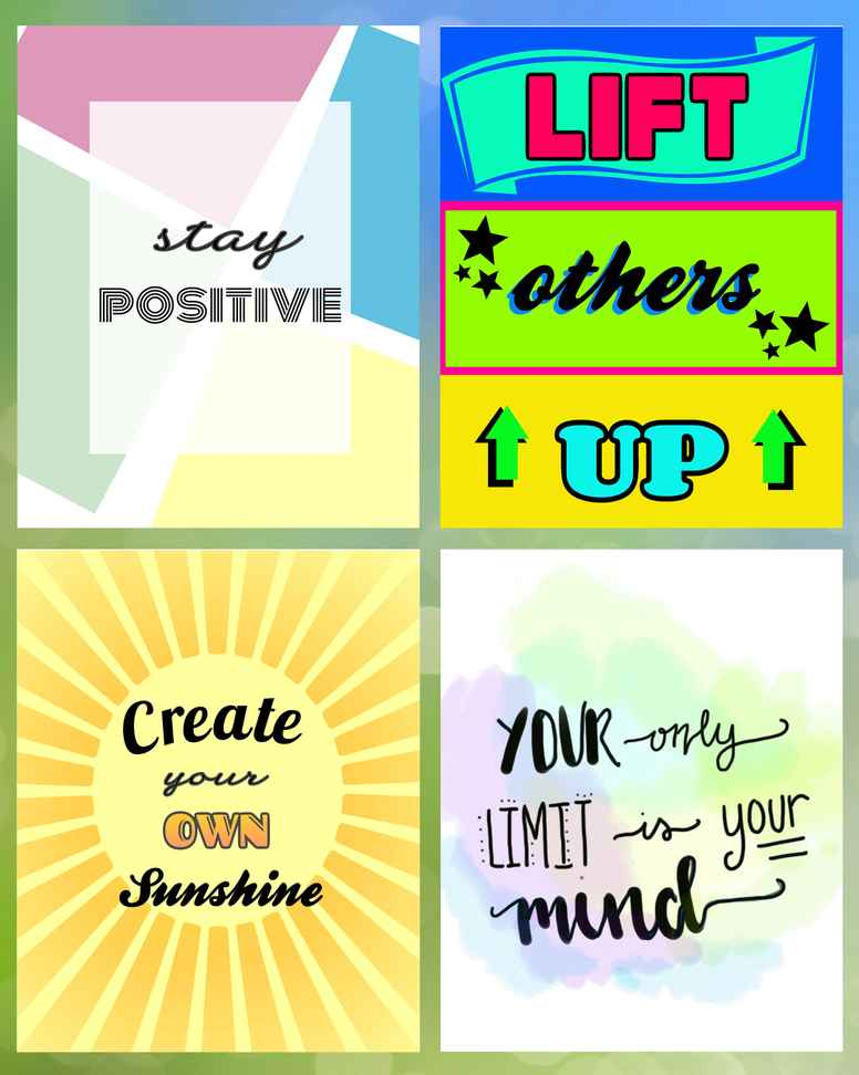 Positive Posters Pack