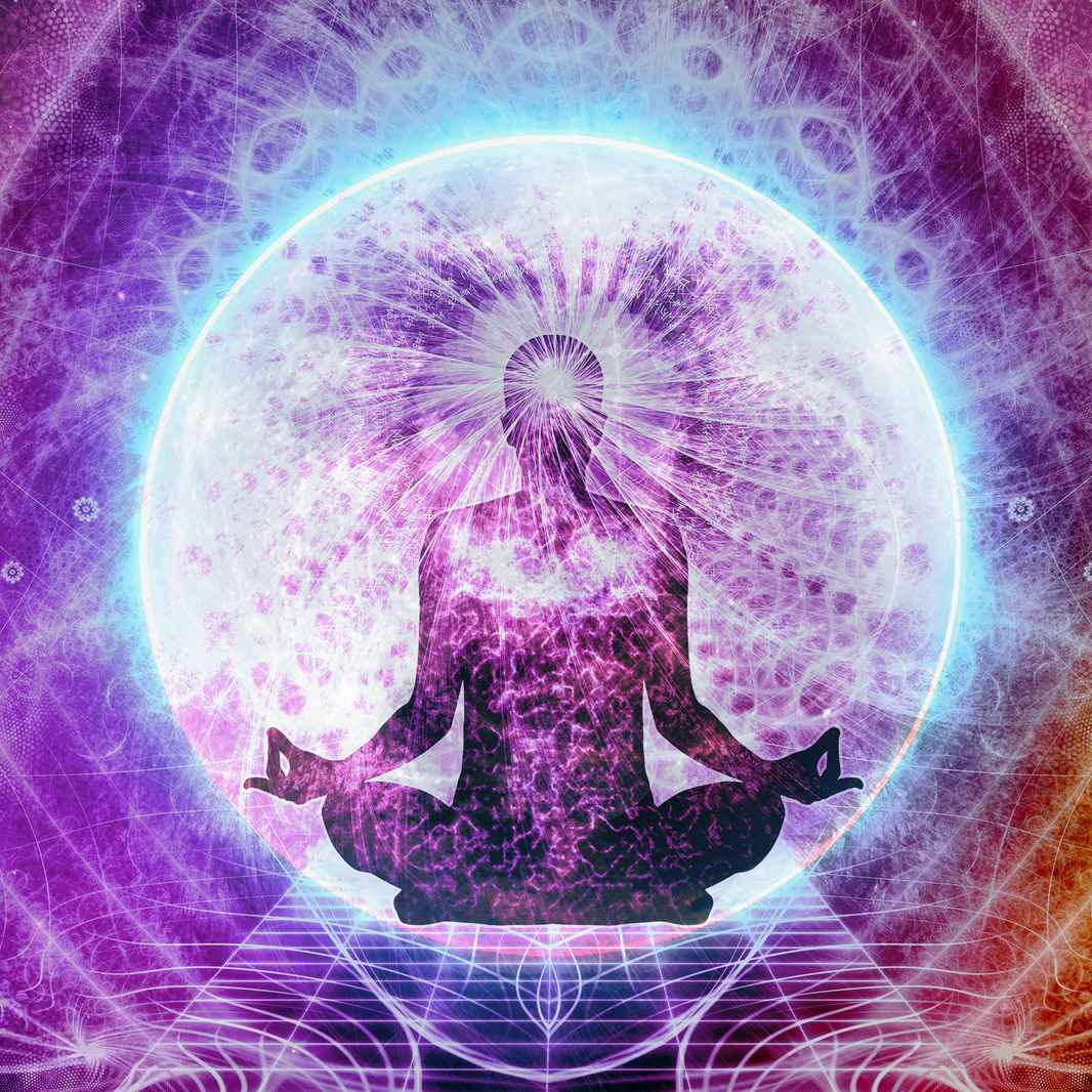bigstock-Abstract-Multicolored-Artistic cosmic man meditation square