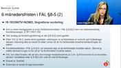 Forsikringsrett 3 seks månedersfristen i FAL Grovredigert av Jana 230121