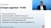 Forsikringsrett 12 Utvalgte avgjørelser FinKN Grovredigert av Jana 230121