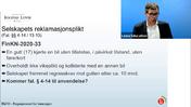 Forsikringsrett 16 Selskapets reklamasjonsplikt Grovredigert av Jana 230121