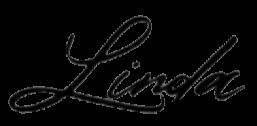 Linda signature png