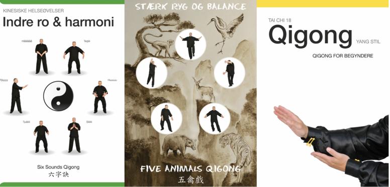Qigong - Komplet bogpakke til begyndere