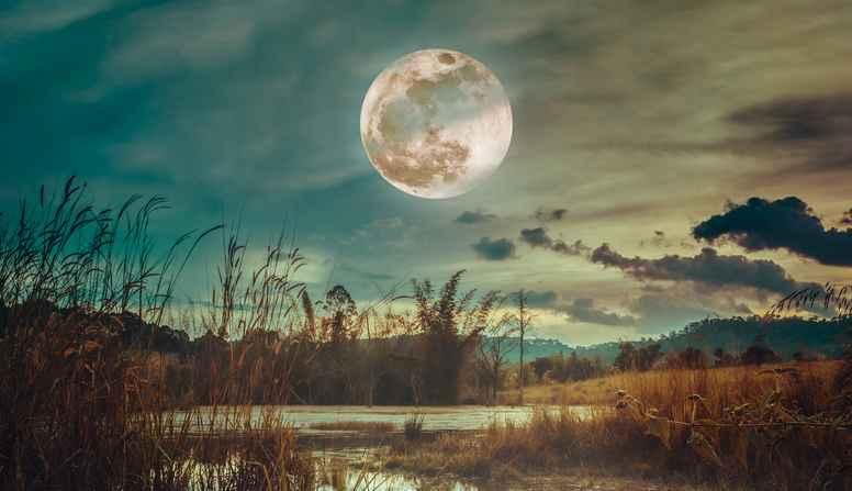 Med månen som spejl