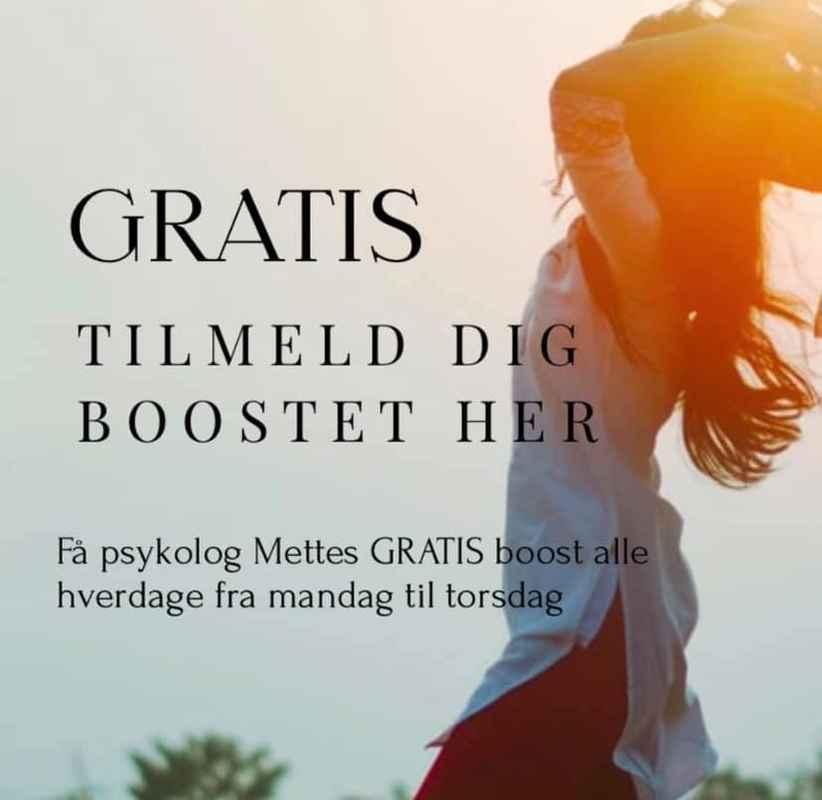 Mette Holm Boostet tilmelding