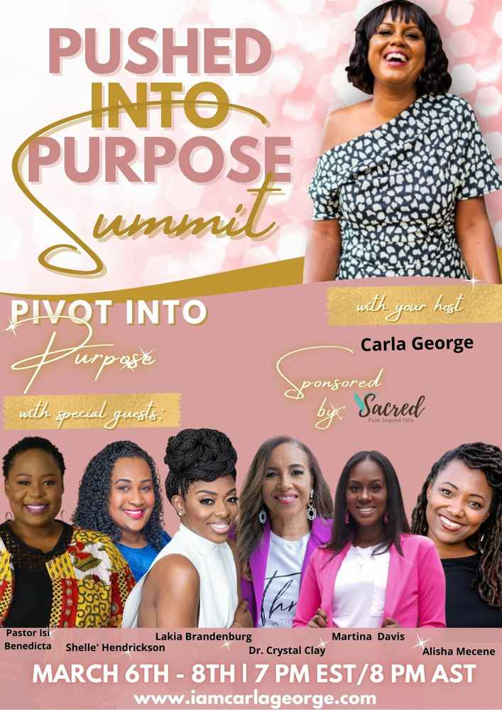 Pushed Into Purpose Summit - ALL ACCESS PASS