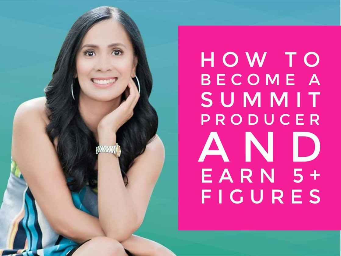 How To Become A Summit Producer-Marie