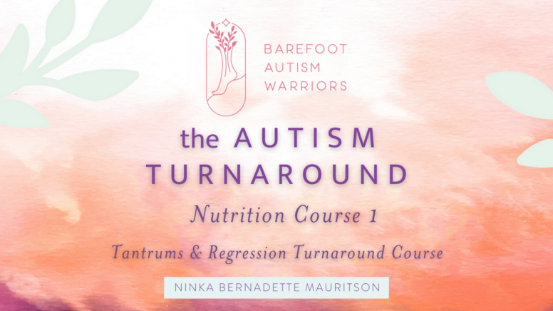 Autism Turnaround Nutrition Course 1