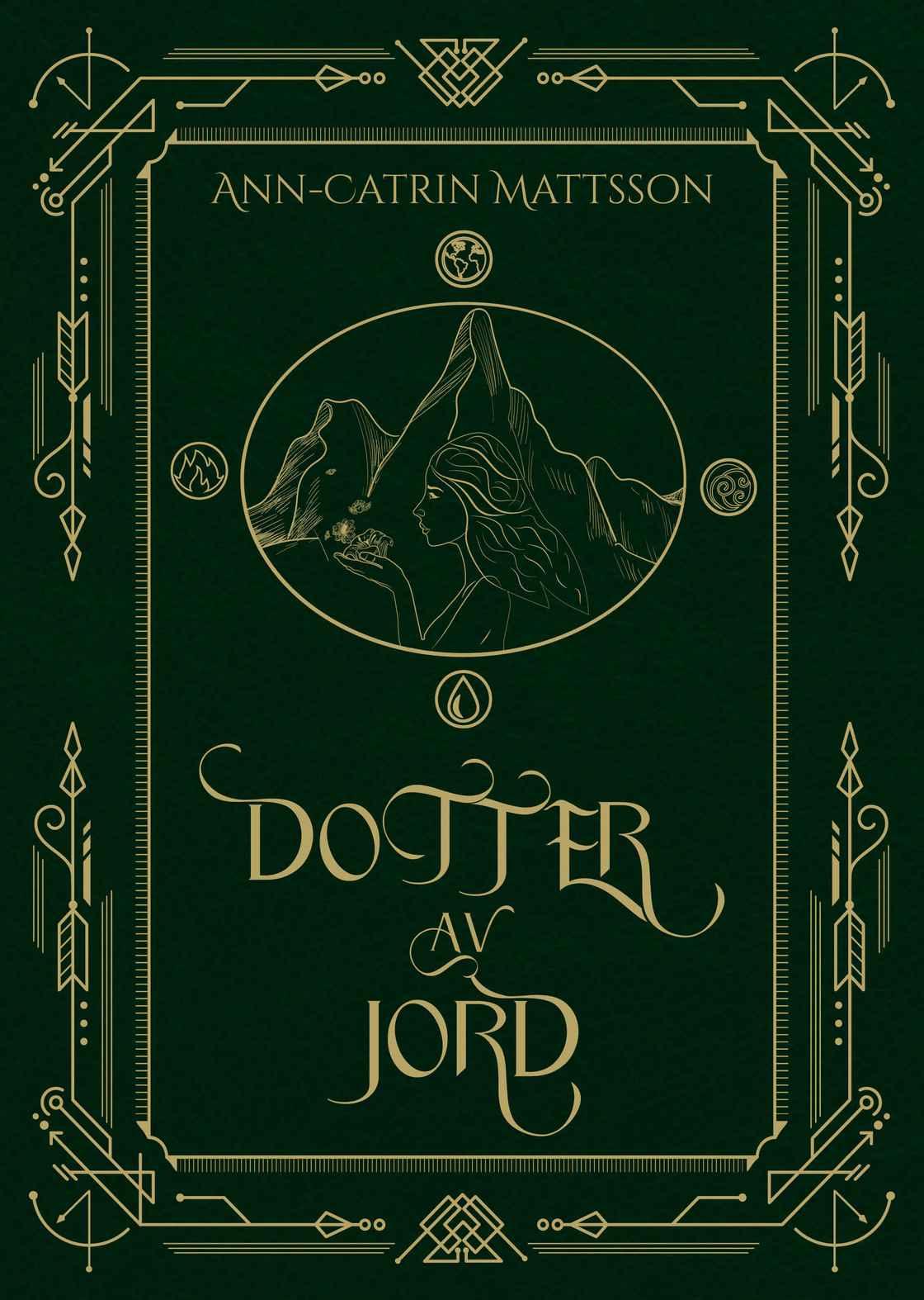 Dotter av Jord cover bok bokomslag