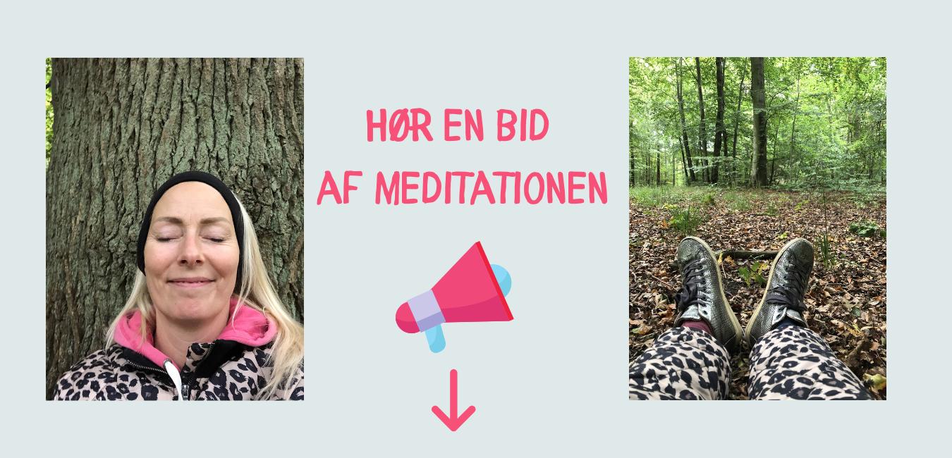Hør en bid af meditationen