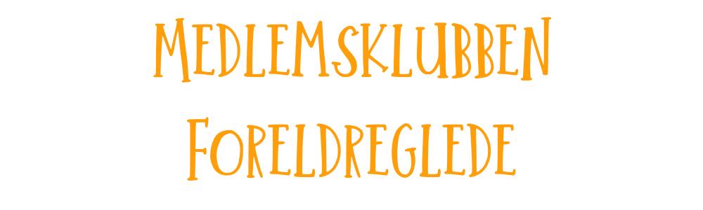 Medlemsklubben Foreldreglede tittel orange