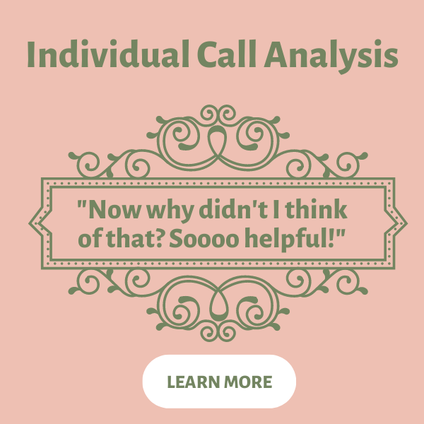In-depth Sales Call Analysis