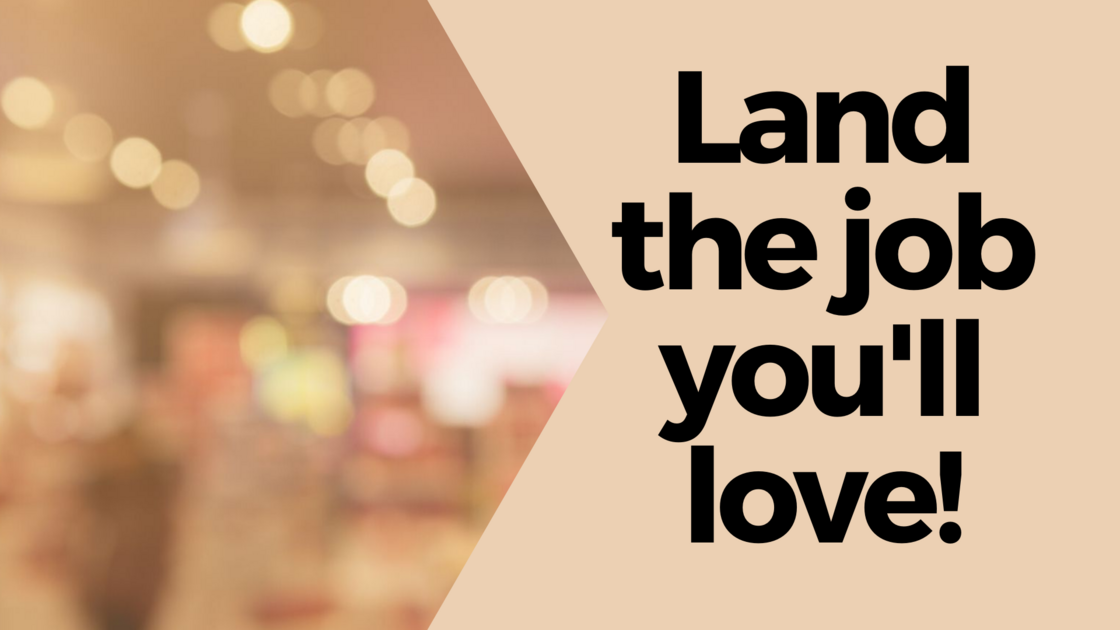 TCA Land the Job You'll Love cover