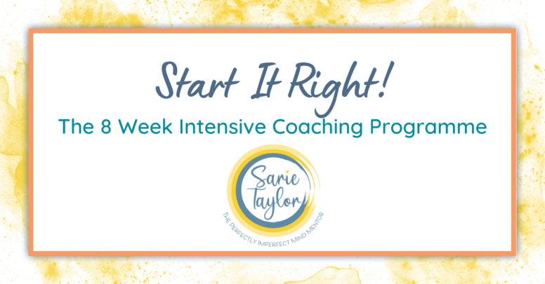8 Week Intensive Coaching Programme with Sarie Taylor