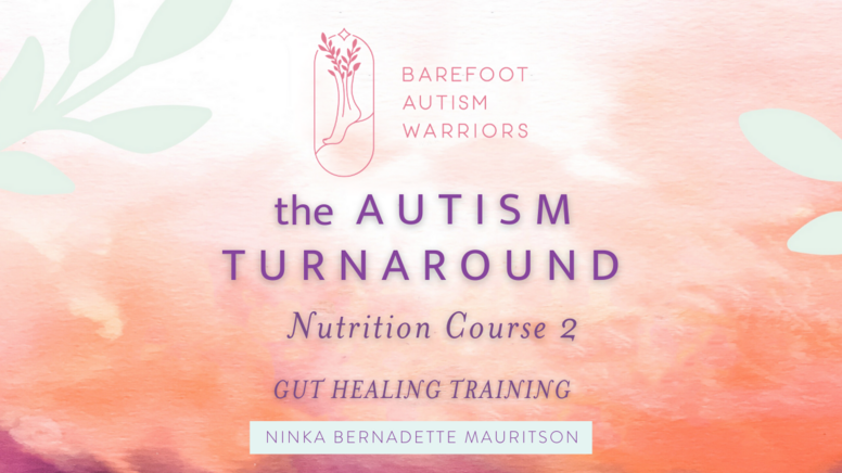 Autism Turnaround Nutrition Course 2