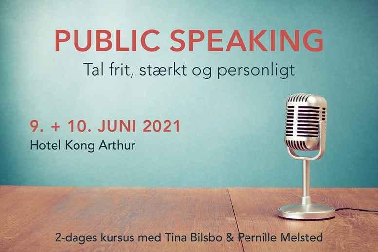 PUBLIC SPEAKING juni 2021