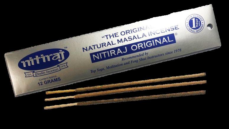 NITIRAJ Original Incense - 12gr.