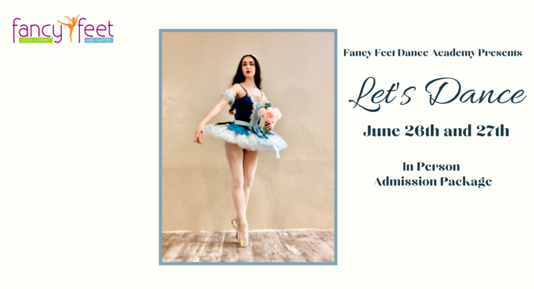 June 2021 Recital Admission Package - In Person