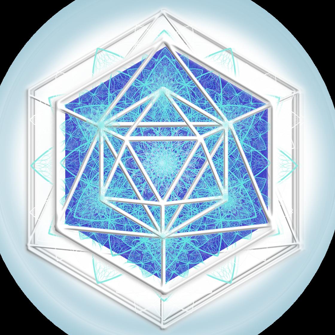 LVQ Logo Extra White Glow with HALO mirror 2