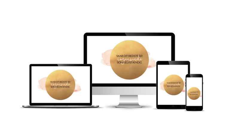 Onlineworkshop: SKAB DIT BEDSTE ÅR