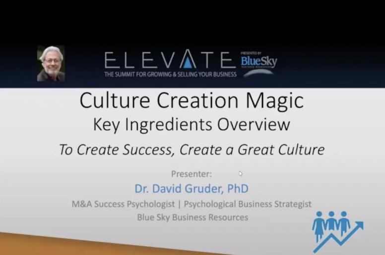 Culture Creation Magic