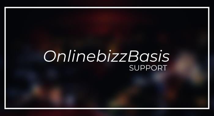 OnlinebizzBasis support