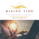 Copy of Rising Tide Logo Transparent Black and Gold (1)